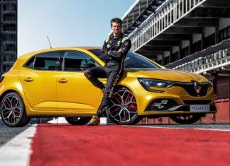 Nouvelle Renault Megane RS Trophy avec Hulkenberg