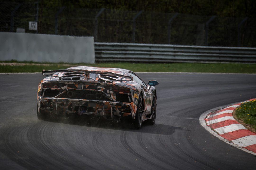 Aventador SV Jota Nürburgring