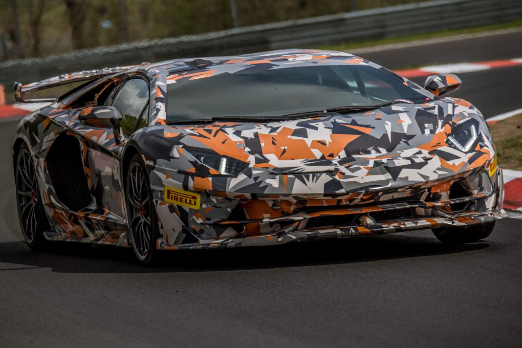 Record pour l'Aventador SV Jota au Nürburgring