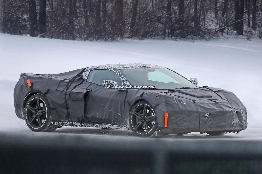 Photos espion de la Chevrolet Corvette C8 plus tôt dans l'année
