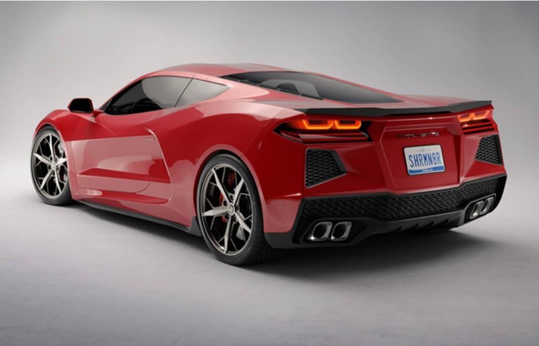 La Chevrolet Corvette à moteur central a encore été aperçue