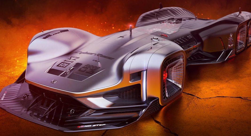 CyberRace Honda par Frederic Le Schiellour