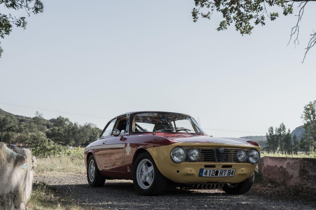 Alfa Romeo Coupé Bertone 3/4