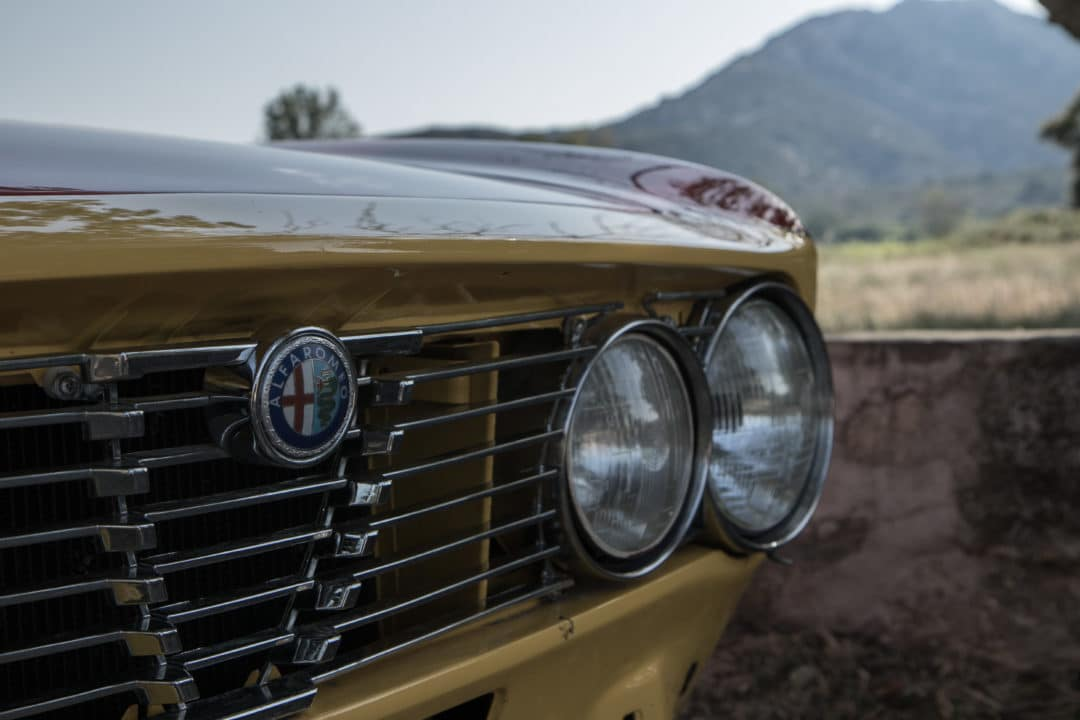 Phares avant Coupe Bertone Alfa Romeo