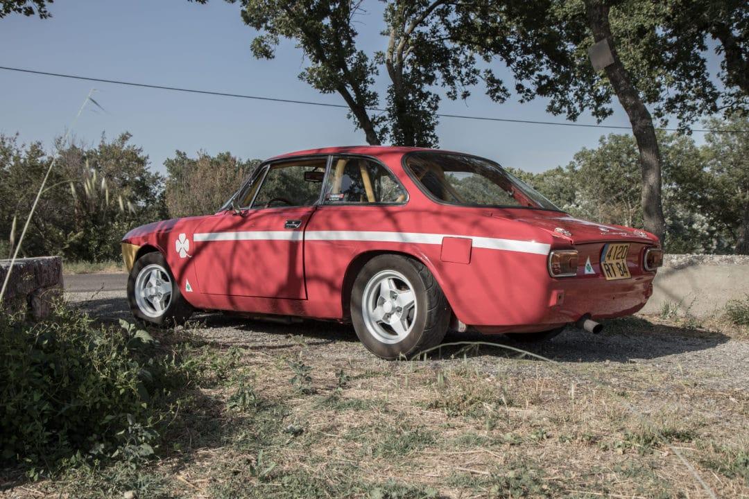 Alfa Romeo Coupé Bertone arrière