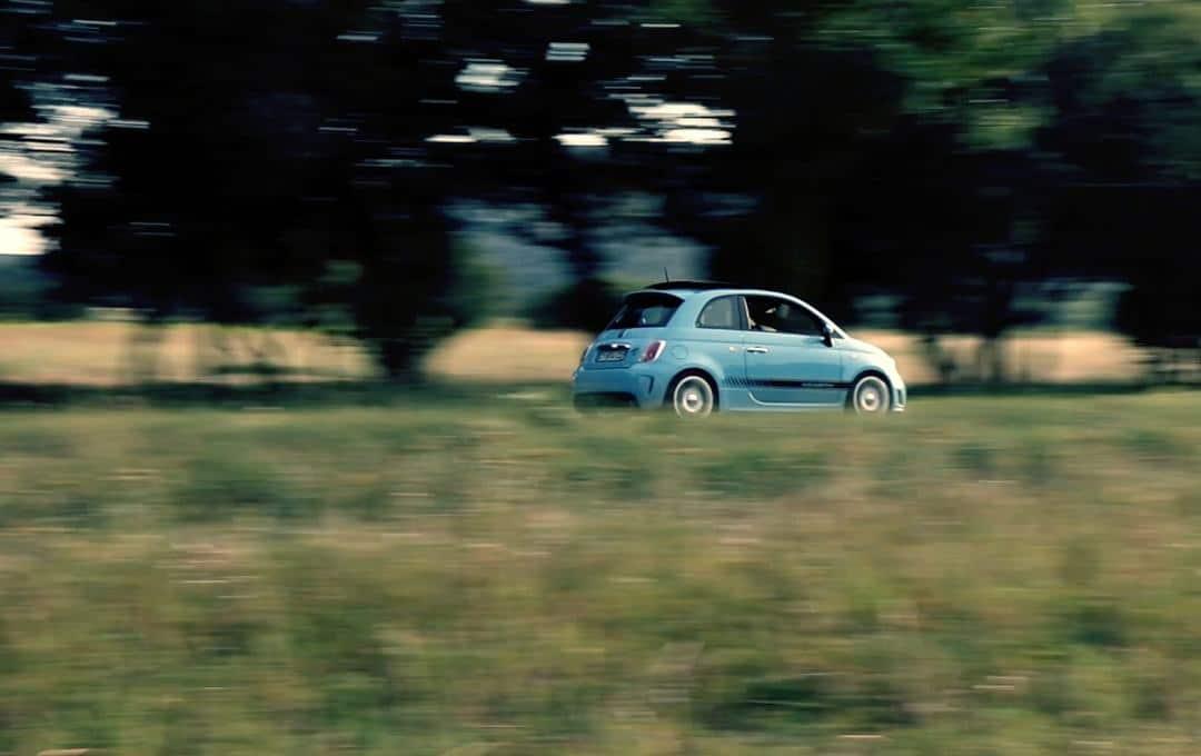 Fiat Abarth 500 profil