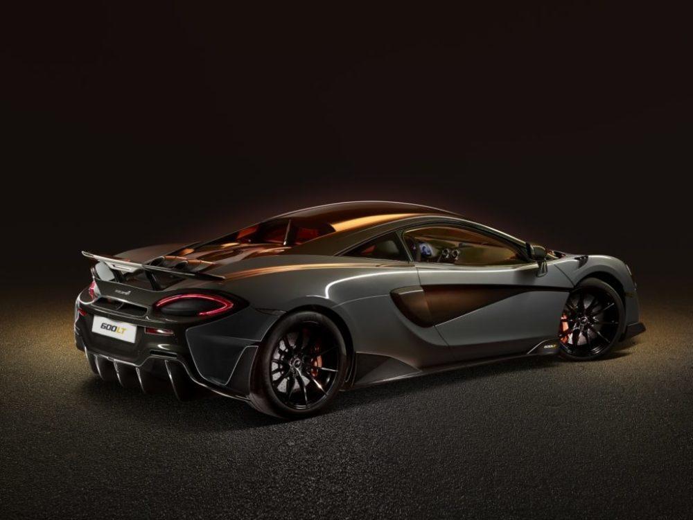Diffuseur de la McLaren 600LT