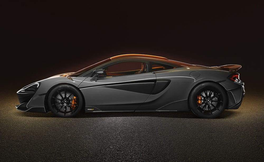 McLaren 600LT de profil