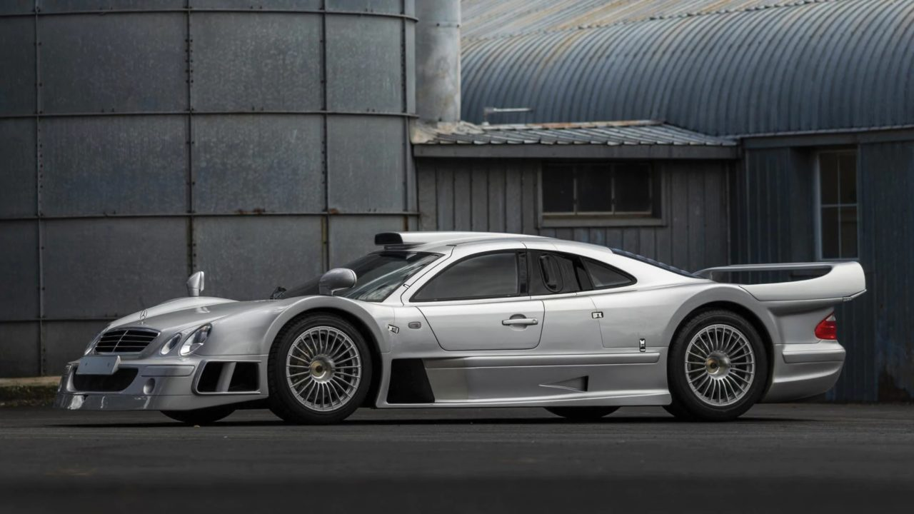 Mercedes AMG CLK GTR 1998