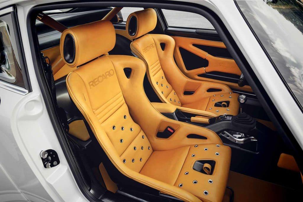 Sièges Recaro Porsche 911 Singer 2018
