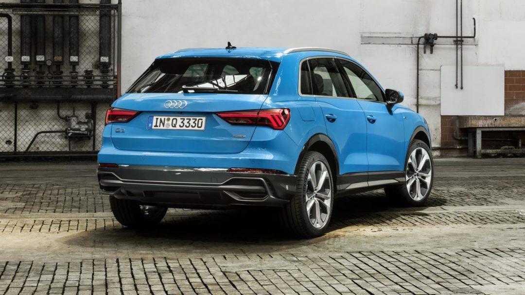 Arrière Audi Q3