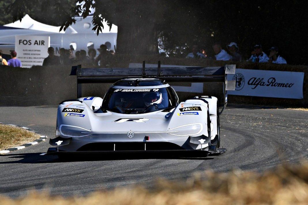 Goodwood Festival of Speed Volkswagen ID R