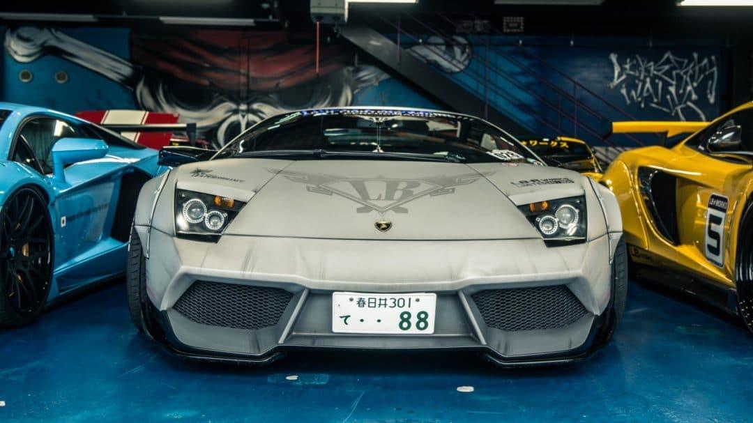 Lamborghini Liberty Walk face avant