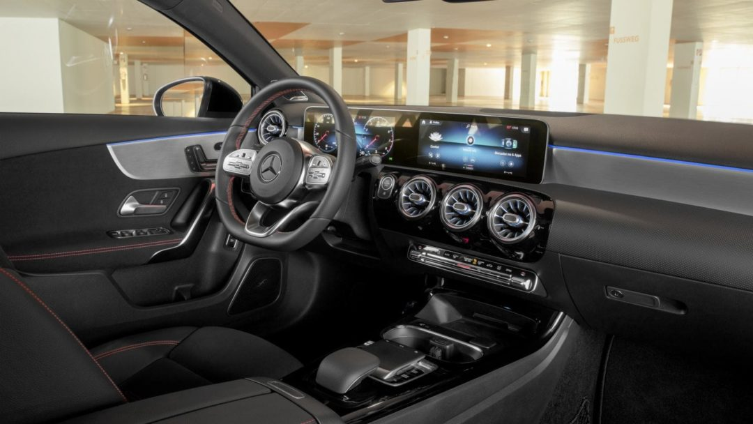 Interieur Mercedes Classe A Berline