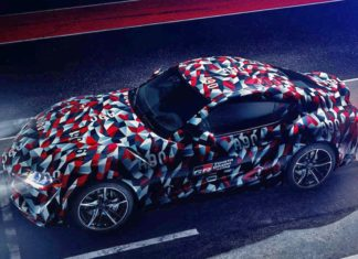 Toyota Supra nascar camouflage goodwood