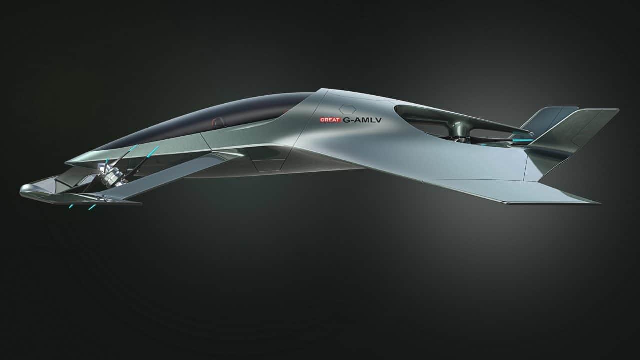 Volante Vision Concept de profil