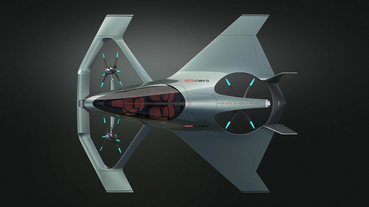 Volante Vision Concept de haut