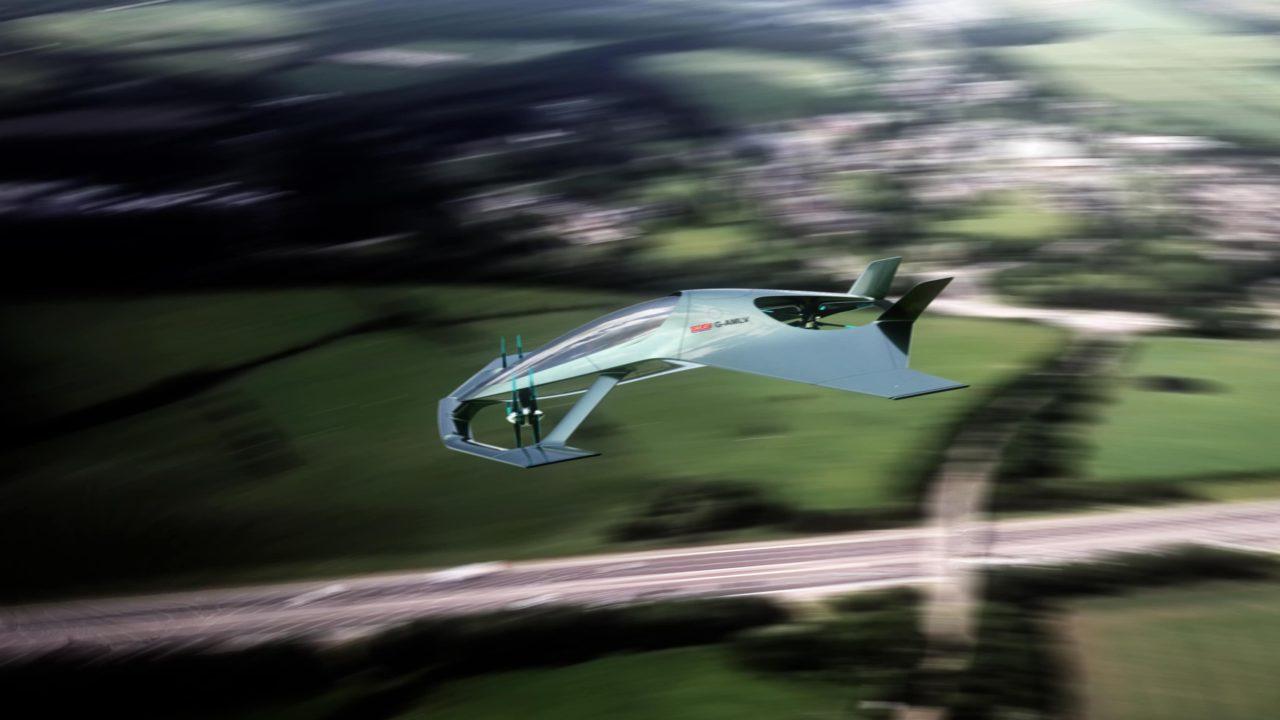 Volante Vision Concept en vol