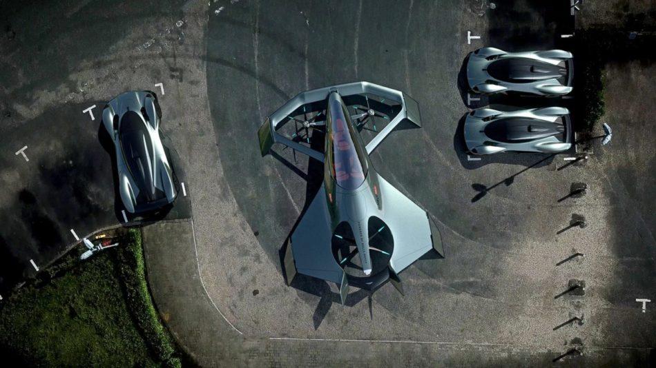 Volante Vision Concept stationnement