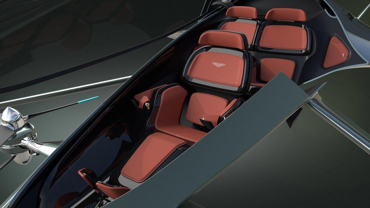 Volante Vision Concept intérieur cockpit