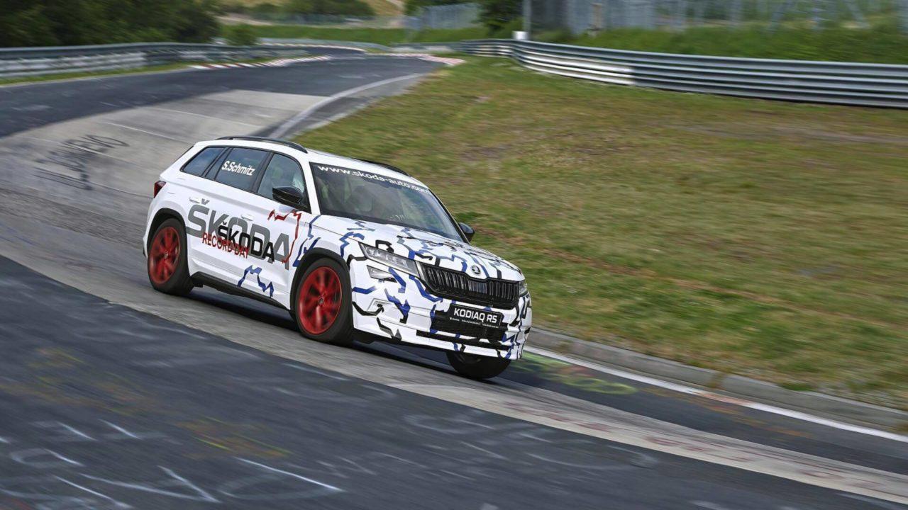 Skoda Kodiaq RS au Nürburgring
