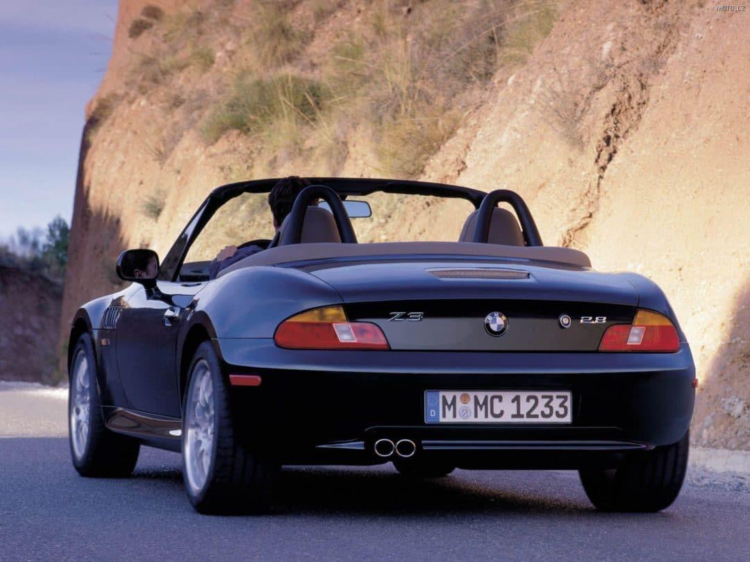 Arrière BMW Z3 2.8 Roadster