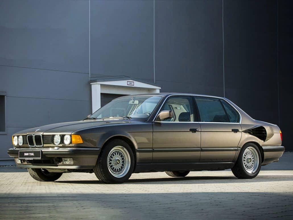 Voitures abandonnées - BMW 767iL (1987)