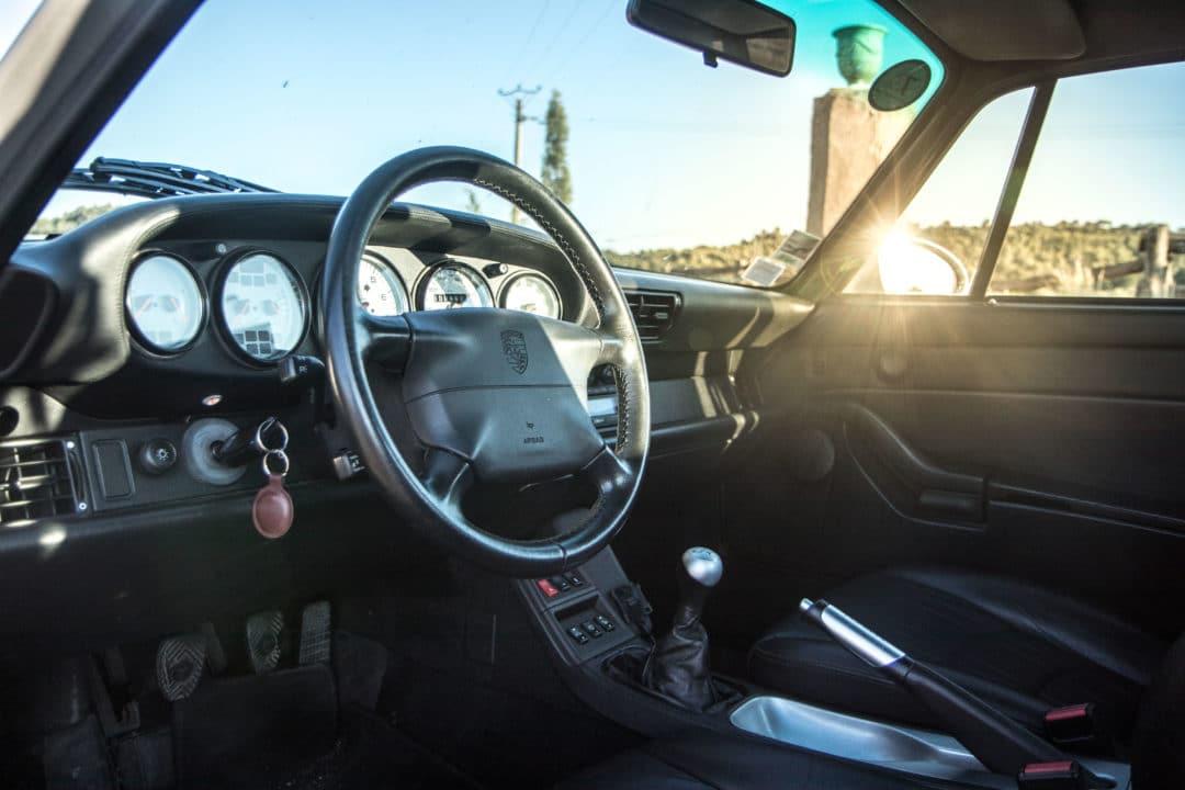 Intérieur Porsche 911 Carrera 4S type 993