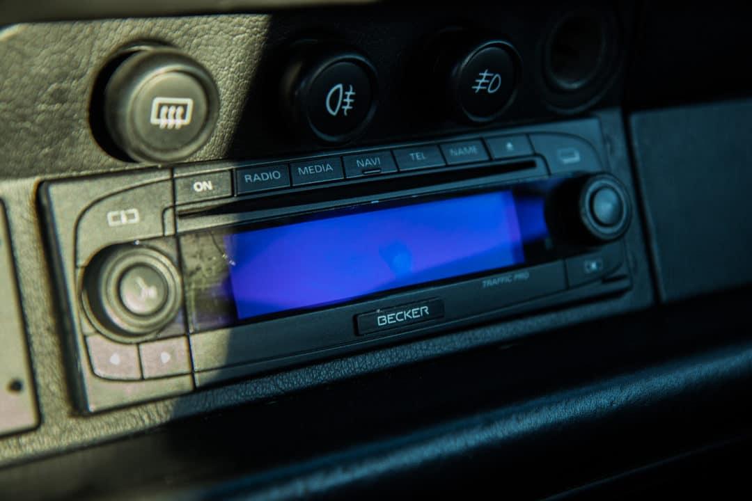 GPS sur la Porsche 911 Carrera 4S type 993