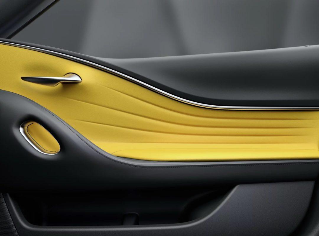 Portes Intérieur Lexus LC Yellow Edition