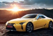 Nouvelle Lexus LC Yellow Edition