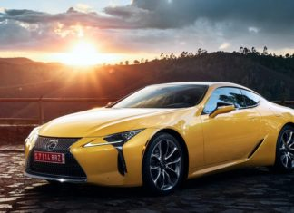 Nouvelle Lexus LC Yellow Edition