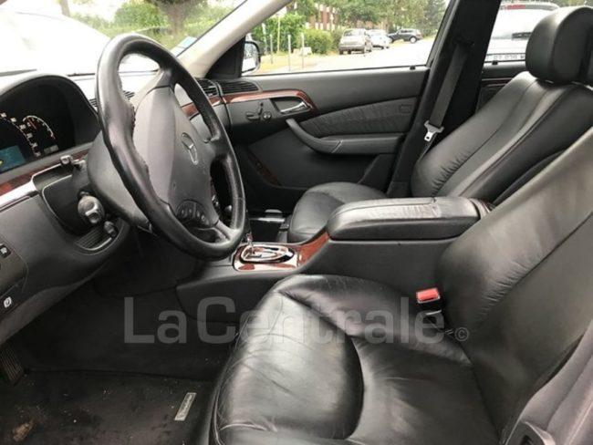 Interieur avant Mercedes Classe S