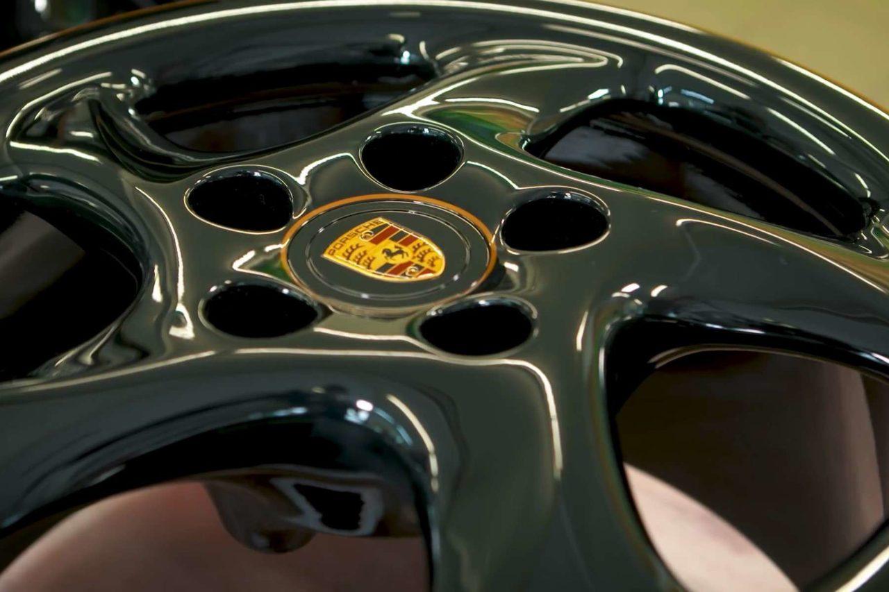 Jantes de la Porsche 993 Turbo Project Gold