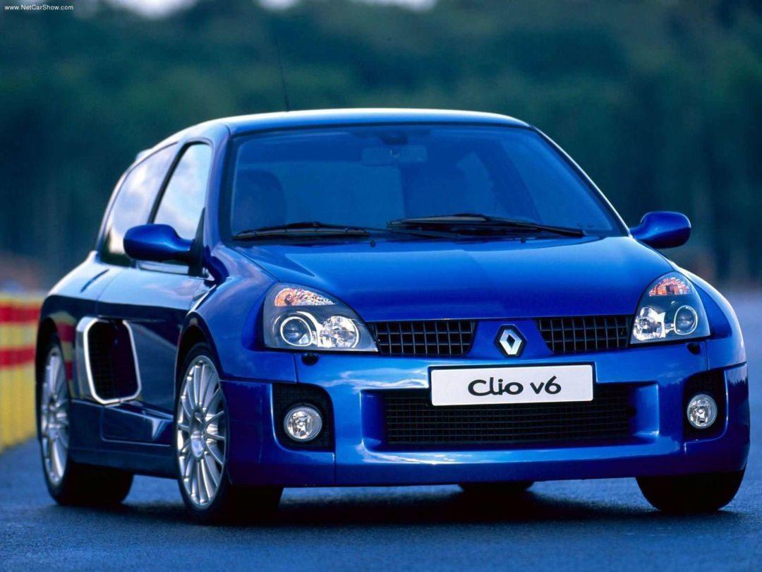 Renault Clio V6 co-développée par Porsche