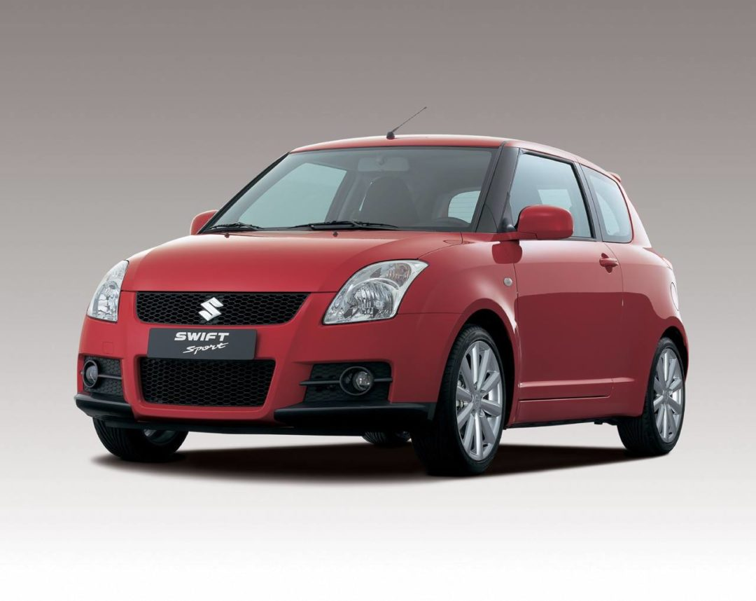 Suzuki Swift Sport de face
