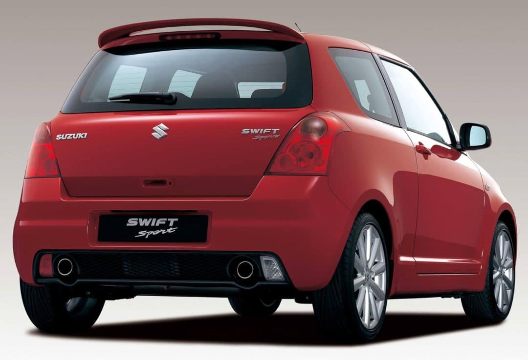 guide d 39 achat suzuki swift sport 2005 2012. Black Bedroom Furniture Sets. Home Design Ideas