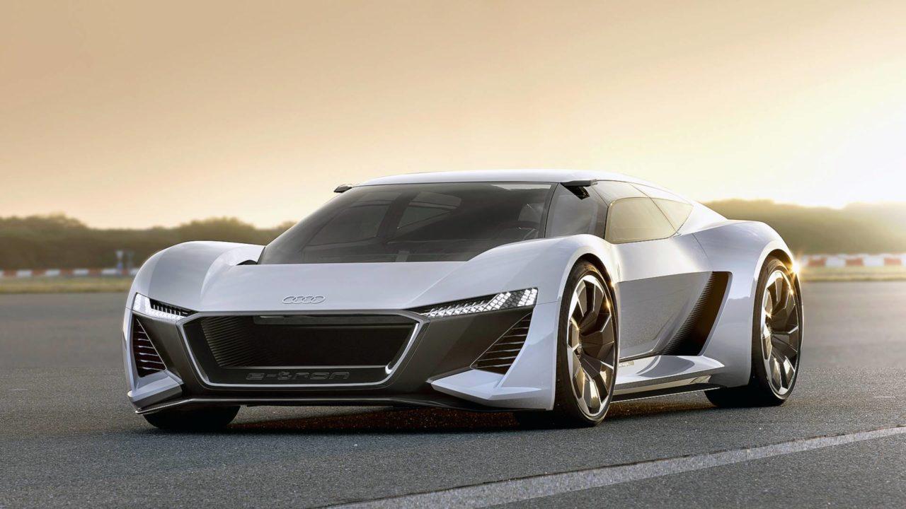 Audi PB18 e-tron supercar électrique allemande