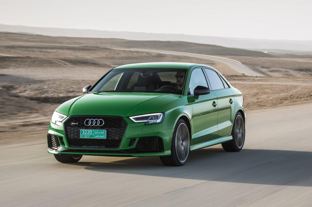 L'Audi RS3 Compacte et Berline touchée par le WLTP