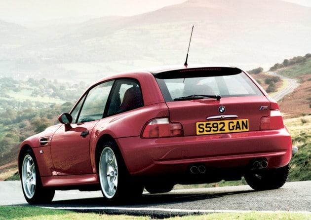 Arrière BMW Z3 M Roadster