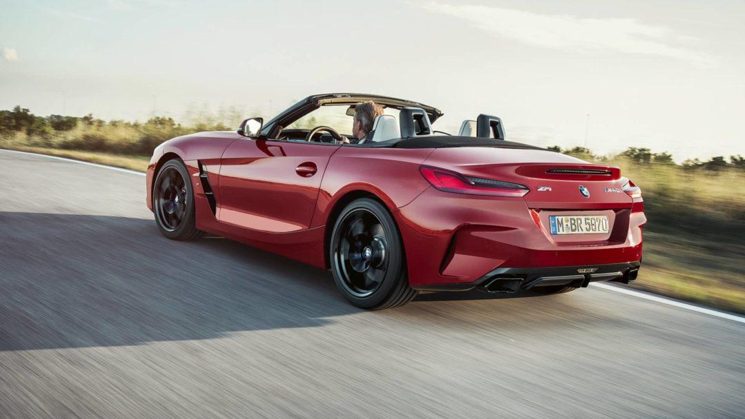 Arrière BMW Z4 (2019)