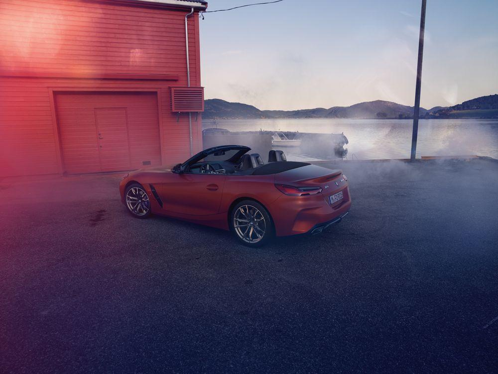 Leak photo BMW Z4 2019