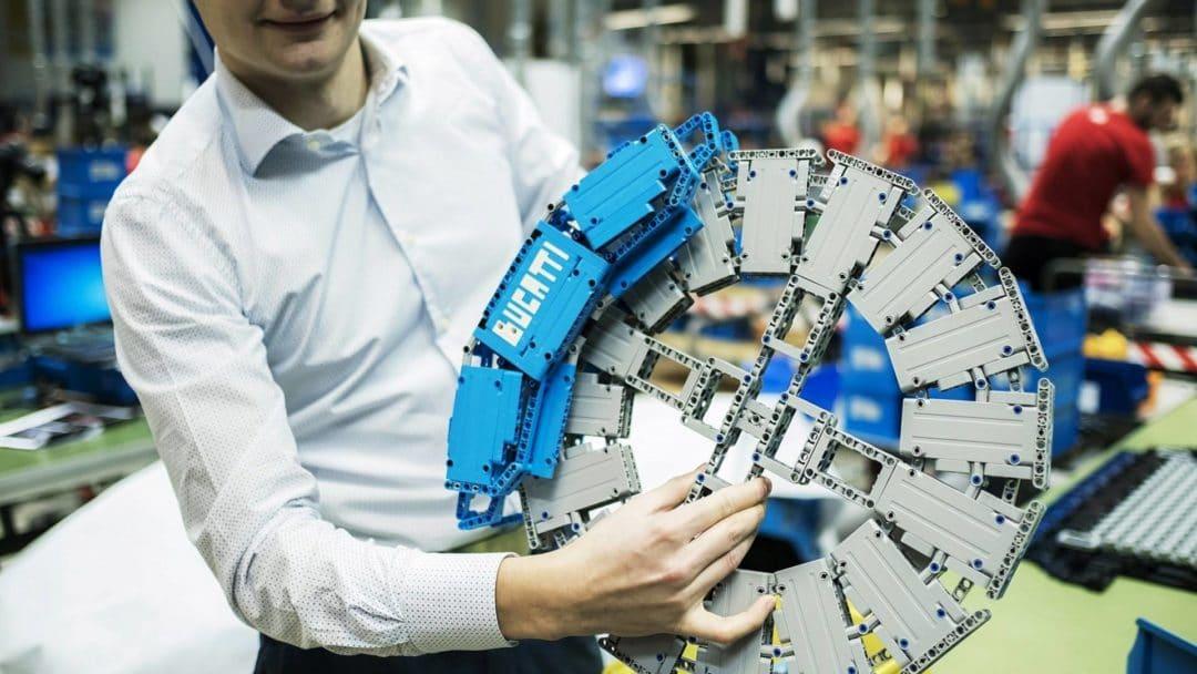 Disques freins Bugatti Chiron Lego Technic 1:1