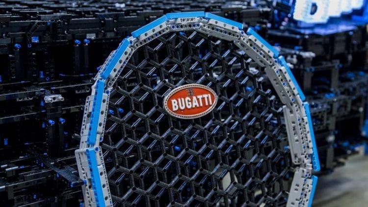 Grille avant Bugatti Chiron Lego Technic 1:1