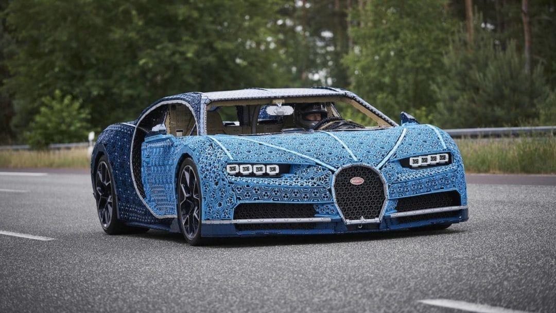 Bugatti Chiron Lego Technic 1:1 qui roule