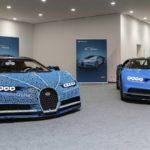 Bugatti Chiron Lego Technic comparaison