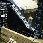 interieur console centrale Bugatti Chiron Lego Technic 1:1