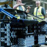 usine Bugatti Chiron Lego Technic 1:1