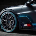 Jantes et pneus Michelin de la Bugatti Divo