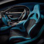 Intérieur conducteur Bugatti Divo